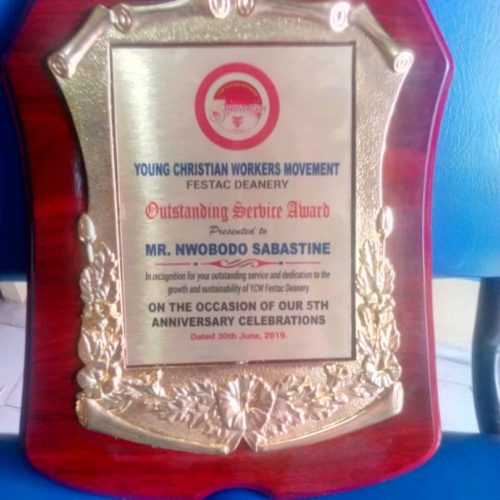 Wooden Award Plaque By Excellence Awards International