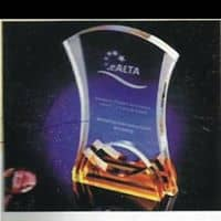 Crystal Plaque By Excellence Awards International By Excellence Awards International