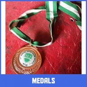 sport medals in lagos by Excellence Awards International