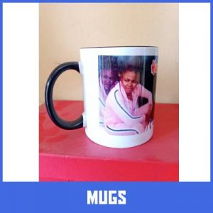 Mug branding in lagos by Excellence Awards International
