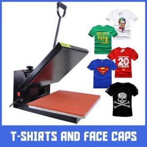 t-shirt and face caps branding in lagos by Excellence Awards International