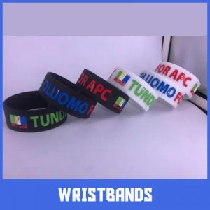 wristbands as political campaign materials
