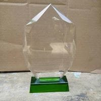 Octagonal Crystal Plaque By Excellence Awards International By Excellence Awards International