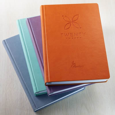 diary and jotter as souvenir ideas