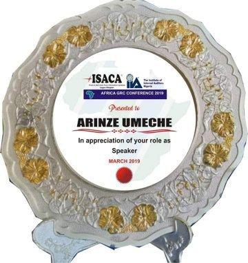 metal award plaque