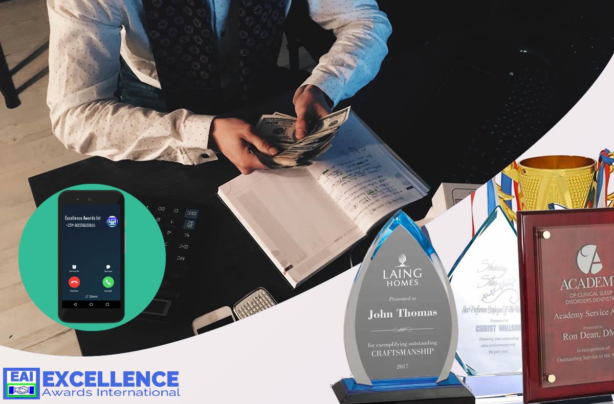 make money in award plaque business
