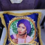 Emotional throw pillow gift and souvenir